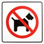 Znaczek - Zapraszamy gości bez psów